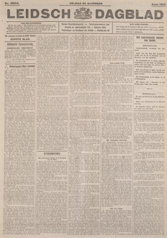 Leidsch Dagblad 1923-11-23