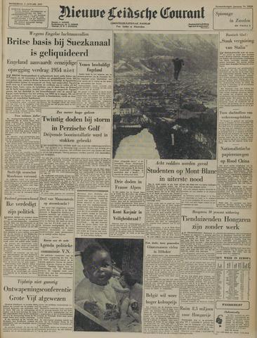 Nieuwe Leidsche Courant 1957-01-03