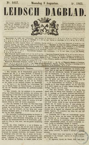 Leidsch Dagblad 1863-08-03