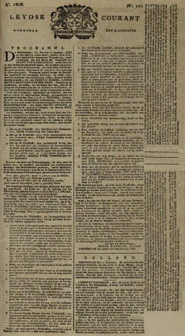 Leydse Courant 1808-08-24