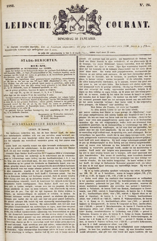 Leydse Courant 1882-01-31