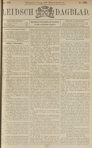 Leidsch Dagblad 1885-12-10