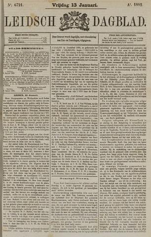 Leidsch Dagblad 1882-01-13