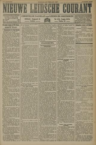 Nieuwe Leidsche Courant 1927-02-28