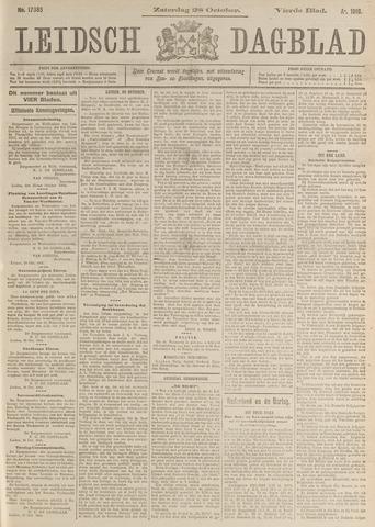 Leidsch Dagblad 1916-10-28