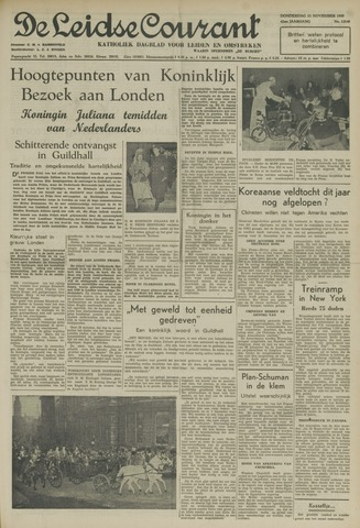 Leidse Courant 1950-11-23