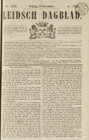 Leidsch Dagblad 1864-12-02