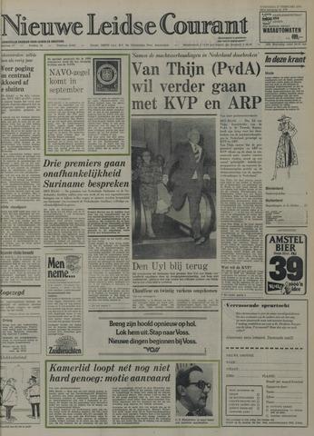 Nieuwe Leidsche Courant 1974-02-27