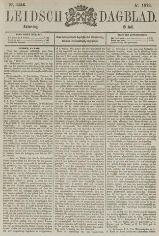 Leidsch Dagblad 1878-07-13