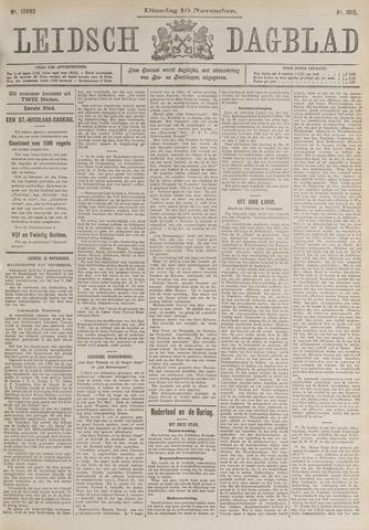 Leidsch Dagblad 1915-11-16
