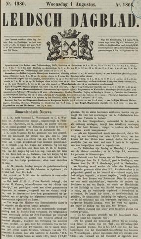 Leidsch Dagblad 1866-08-01