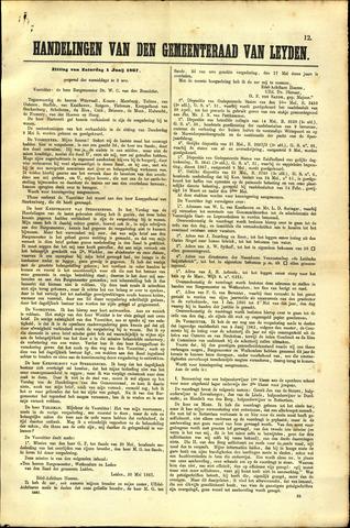 Handelingen van de Raad 1867-06-01