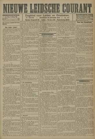 Nieuwe Leidsche Courant 1923-10-20