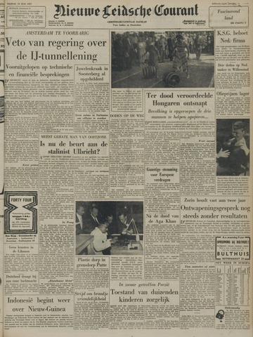 Nieuwe Leidsche Courant 1957-07-12