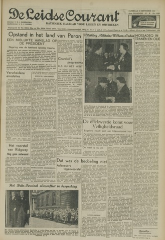 Leidse Courant 1951-09-29