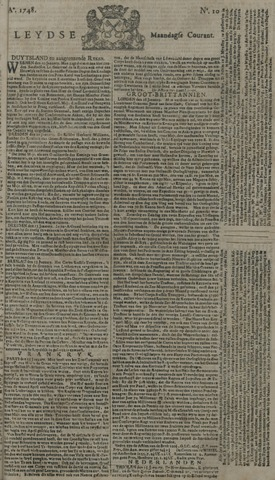 Leydse Courant 1748-01-22