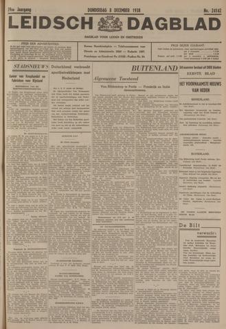 Leidsch Dagblad 1938-12-08