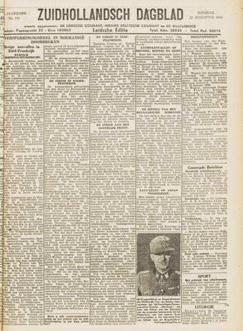 Zuidhollandsch Dagblad 1944-08-22