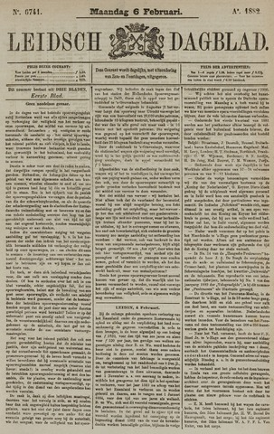 Leidsch Dagblad 1882-02-06