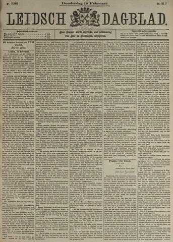 Leidsch Dagblad 1897-02-18