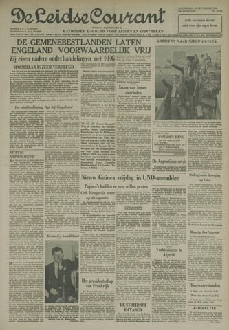 Leidse Courant 1962-09-20