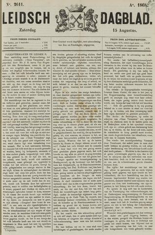 Leidsch Dagblad 1868-08-15