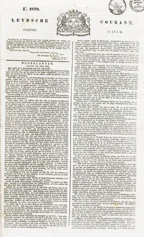 Leydse Courant 1839-07-19