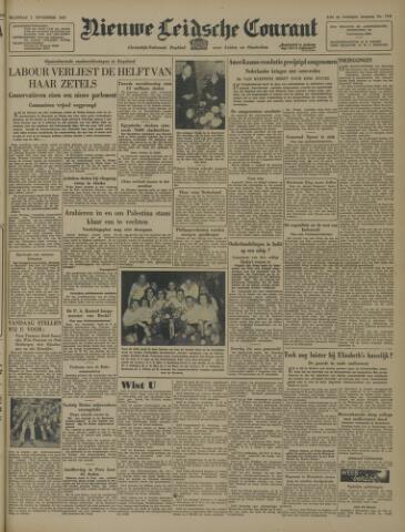 Nieuwe Leidsche Courant 1947-11-03