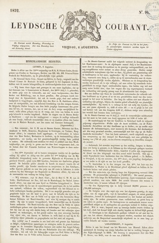 Leydse Courant 1852-08-06