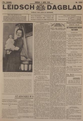 Leidsch Dagblad 1938-04-05