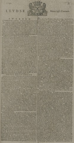 Leydse Courant 1740-01-25