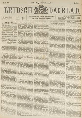 Leidsch Dagblad 1894-02-13