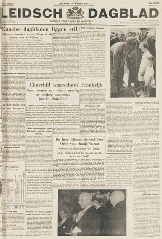 Leidsch Dagblad 1954-10-11