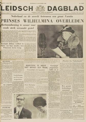 Leidsch Dagblad 1962-11-28