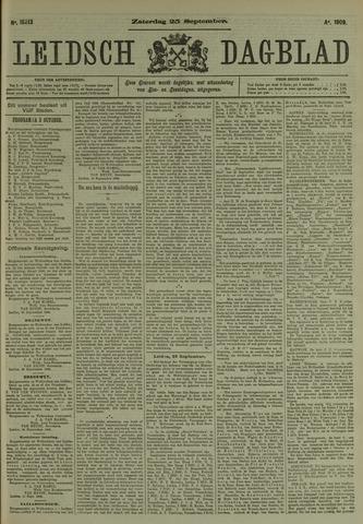 Leidsch Dagblad 1909-09-25