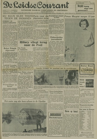 Leidse Courant 1958-01-18
