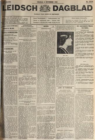 Leidsch Dagblad 1932-11-04