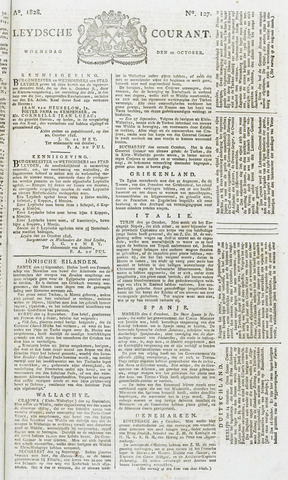 Leydse Courant 1828-10-22
