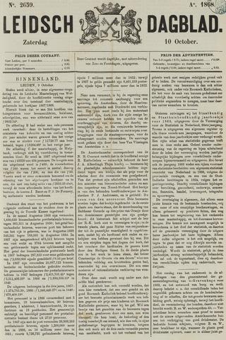 Leidsch Dagblad 1868-10-10