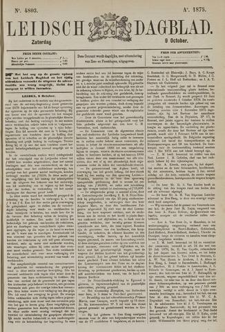 Leidsch Dagblad 1875-10-09