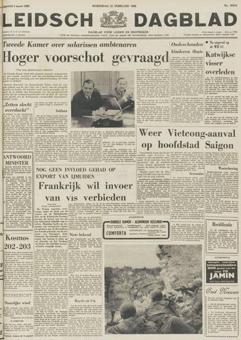 Leidsch Dagblad 1968-02-21