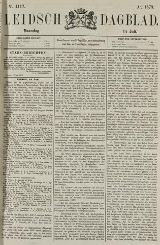 Leidsch Dagblad 1873-07-14