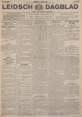 Leidsch Dagblad 1930-04-08