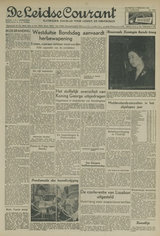Leidse Courant 1952-02-09