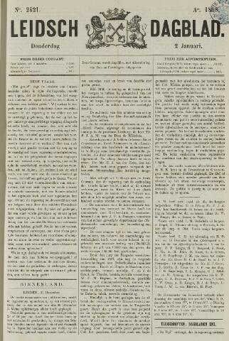 Leidsch Dagblad 1868