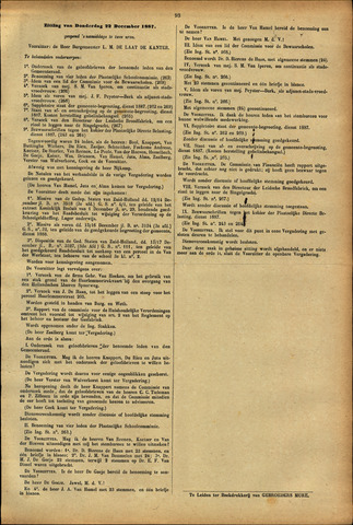 Handelingen van de Raad 1887-12-22