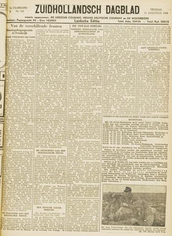 Zuidhollandsch Dagblad 1944-08-11