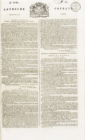 Leydse Courant 1841-05-12
