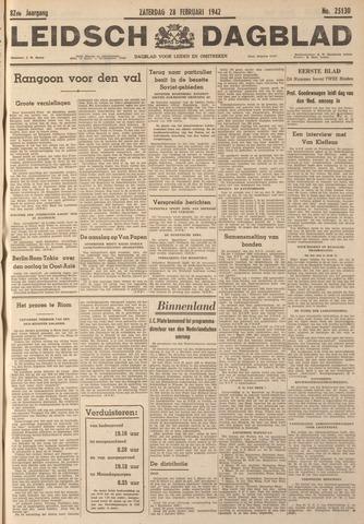 Leidsch Dagblad 1942-02-28