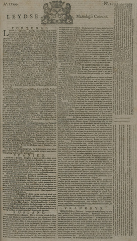 Leydse Courant 1744-02-17